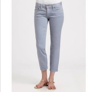 Tory Burch crop jeans